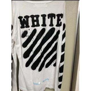 OFF-WHITE - Off-White スプレー ロングシャツ