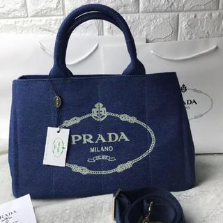 PRADA - PRADAカナパMネイビー トートバッグ
