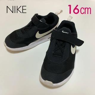 NIKE - NIKE ★ 16cm スニーカー 子供靴 黒 ブラック AIR