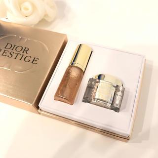 クリスチャンディオール(Christian Dior)のディオール プレステージ ユイルドローズ ラクレーム セット(美容液)