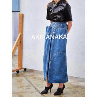 LE CIEL BLEU - akiranaka スライドパネルデニムスカート 1