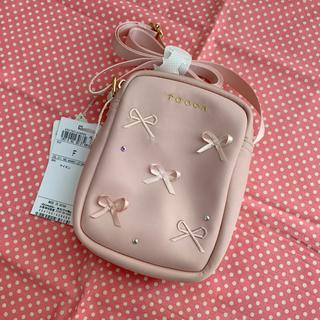TOCCA - トッカ バンビーニ🌸リボン🎀ミニショルダー ピンク