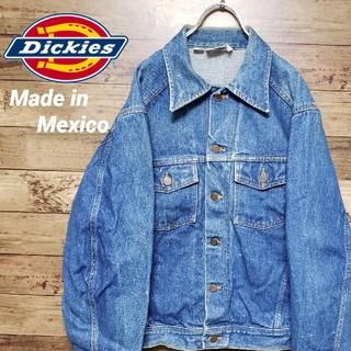 Dickies - 《USA企画》ディッキーズ デニムジャケット メキシコ製 Gジャン インディゴ