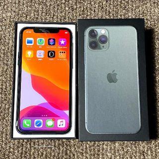 Apple - 新品 simフリー iPhone11 PRO 64GB グリーン 安心の判定○