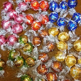 Lindt - 24個 6種 リンツリンドールチョコレート