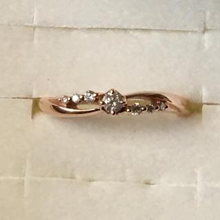 k10  ダイヤモンド リング ピンクゴールド(リング(指輪))