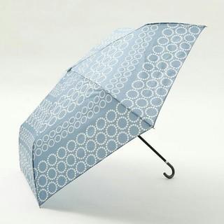 AfternoonTea - ドットボーダー折りたたみ傘