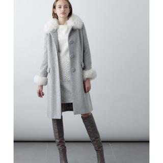 グレースコンチネンタル(GRACE CONTINENTAL)のグレースコンチネンタル 刺繍ポケットコート(ロングコート)