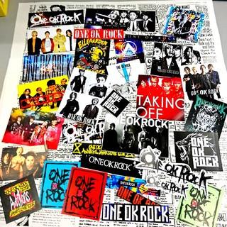ワンオクロック(ONE OK ROCK)のⓝⓔⓦワンオクロック大入りシールセット@商品説明ご確認ください(ミュージシャン)