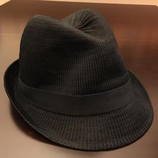 エイチアンドエム(H&M)のハット帽子 メンズ H&M エイチアンドエム 黒 HAT 中折れ帽(ハット)