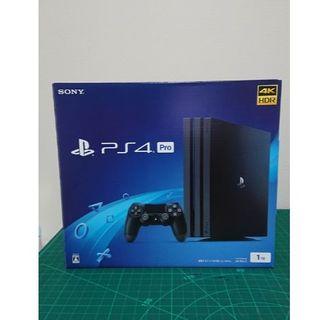 PlayStation4 - 【新品未開封 】PlayStation®4 Pro ジェット・ブラック 1TB