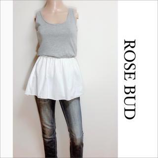 ROSE BUD - ROSE BUD シャツレイヤード チュニック♡シップス KBF ビームス