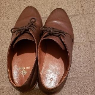 コールハーン(Cole Haan)のベルフローリー おじ靴 紐靴 本革 ZARA(ローファー/革靴)