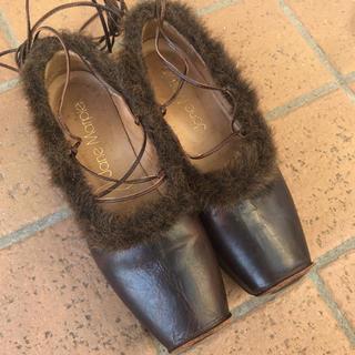 グリモワール(Grimoire)の今週限定 レア dark brown shoes(ローファー/革靴)