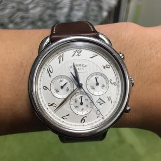 エルメス(Hermes)のエルメス アルソークロノグラフ AR4.910 腕時計 自動巻(腕時計(デジタル))