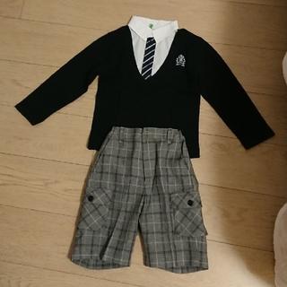 サンカンシオン(3can4on)のスーツ 上下  男の子 110cm(ドレス/フォーマル)