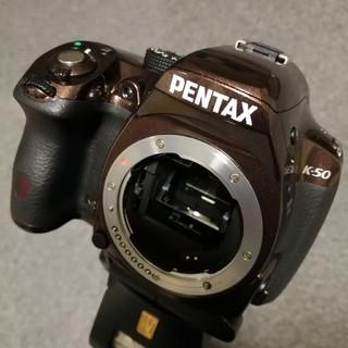 PENTAX - PENTAX ペンタックスK-50 18-55mmレンズセット 美品