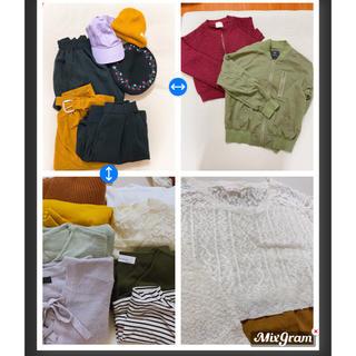 ダブルクローゼット(w closet)の大量!まとめ売り w closet、nice clap多数!!(セット/コーデ)