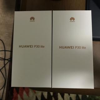 ANDROID - HUAWEI p30lite 新品未開封 本体 64GB simフリー