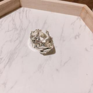 シルバーリング チェーンモチーフ(リング(指輪))