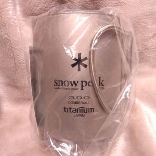Snow Peak - 【新品】スノーピーク チタンダブルマグ 300 MG-052FHR