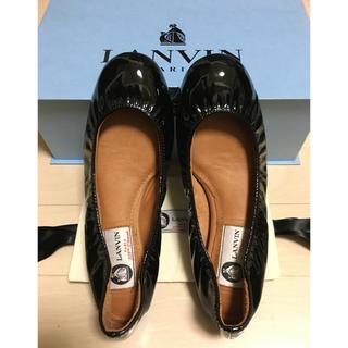 ランバン(LANVIN)の新品 LANVIN フラットシューズ(ローファー/革靴)