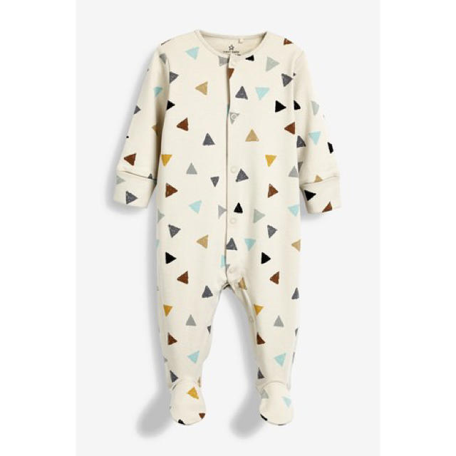 NEXT(ネクスト)のnext ロンパース 3点セット キッズ/ベビー/マタニティのベビー服(~85cm)(ロンパース)の商品写真