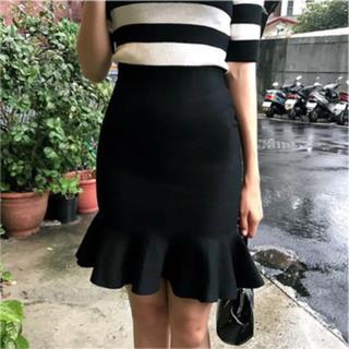 dholic - Chuu フリルヘムマーメードスカート