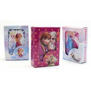 ディズニー アナと雪の女王 ミニ トランプ 3種 セット ケース コンパクト