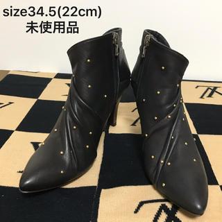 POE ショートブーツ size34.5(22cm)未使用品(ブーツ)