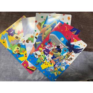 ポケモン(ポケモン)の☆新品、未使用☆ ポケモンオリジナルA5クリアファイル(クリアファイル)