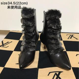from the door ショートブーツ size34.5(22cm)未使用品(ブーツ)