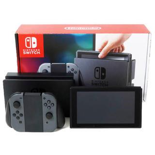 Nintendo Switch - 任天堂Switch 本体 ブラック 美品