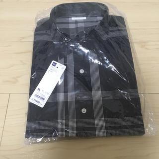 GU - GU チェックシャツ(長袖))
