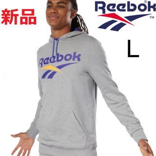 リーボック(Reebok)の新品 リーボック CL ベクター OTH パーカー グレー Lサイズ(パーカー)