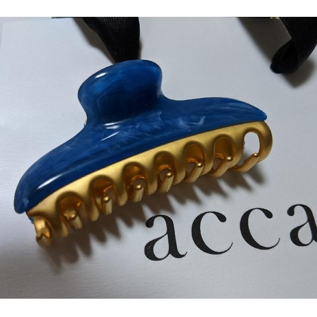 acca(アッカ)の☆ACCA☆バービー 中クリップ 美品 レディースのヘアアクセサリー(バレッタ/ヘアクリップ)の商品写真