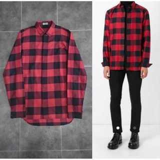 DIOR HOMME - Dior homme ブロックチェックシャツ