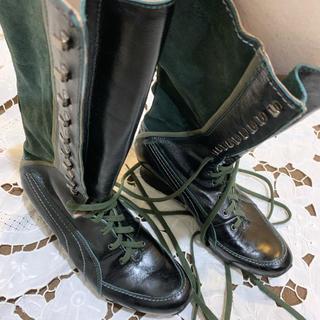 プーマ(PUMA)のブーツ 37 pumaのブラックラベル モスグリーン(ブーツ)