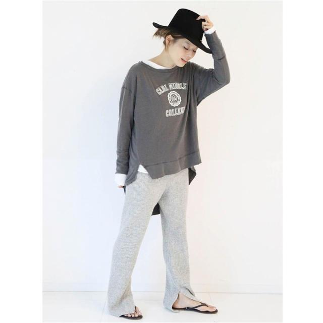 DEUXIEME CLASSE(ドゥーズィエムクラス)のDeuxieme Classe / Layering Tシャツ レディースのトップス(カットソー(長袖/七分))の商品写真