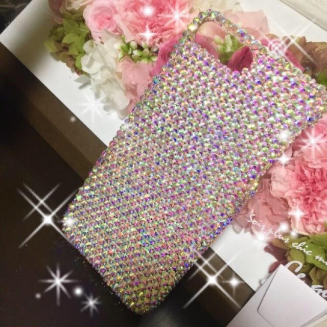 supreme iphone8 ケース レディース - オールスワロフスキー✨iPhoneケースの通販