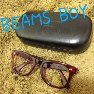 ビームスボーイ(BEAMS BOY)のビームスボーイ*90%紫外線カットメガネ(サングラス/メガネ)