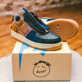 NIKE - 28.5cm TRAVIS SCOTTNIKE AIR FORCE 1 LOW