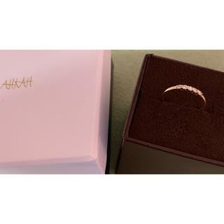 アーカー(AHKAH)の【美品】AHKAH  K18 リング  5号(リング(指輪))