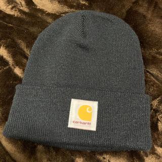 カーハート(carhartt)のCARHARTT ニット帽 黒(ニット帽/ビーニー)