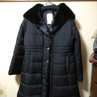 RyuRyu - 大きいサイズのエコファーダウンコート風中綿コートLL新品未使用品