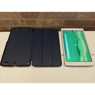 エルジーエレクトロニクス(LG Electronics)のケース付き 防水・防塵 高性能8インチタブレット Qua tab PX(タブレット)