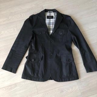 バーバリーブラックレーベル(BURBERRY BLACK LABEL)のコート 黒 バーバリーブラックレーベル Mサイズ ビジネスにも カジュアルにも(その他)
