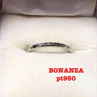 bonanza pt950 鍛造 リング(リング(指輪))