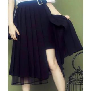 イートミー(EATME)の【新品未使用】EATME プリーツラップスカート(ロングスカート)