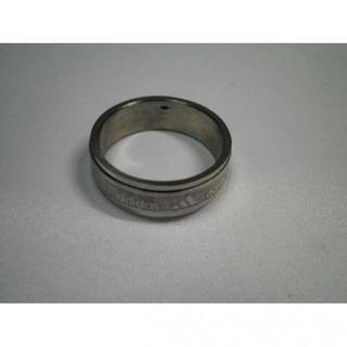 ●D54b17●アディダス●高品質ステンレス 指輪 リング 28号(リング(指輪))